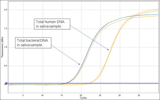 Saliva genome extraction kit chart